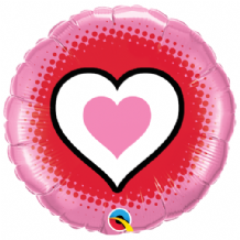 "Only Hearts Foil Balloon (18"") 1pc"